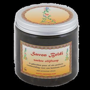 Zachte olijfzeep - Savon Beldi