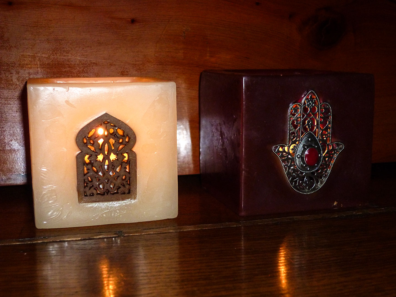 Fatimahand-Marokko-Symbolen-Kaarsen