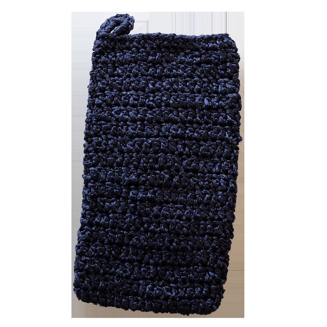 Massagewashandje blauw